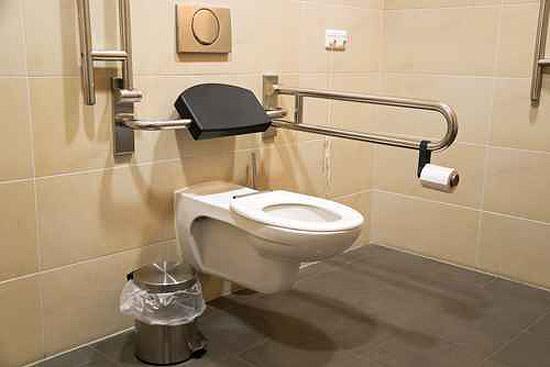 barrierefreies WC in Stuttgart installieren