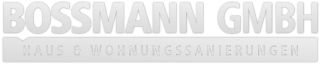 sanieren in Stuttgart | Bossmann GmbH Logo